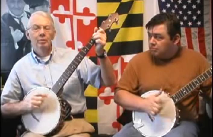 Etudy pro banjo clawhammer